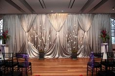 grey fabric draping