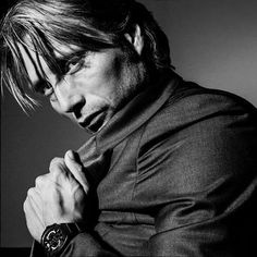 "baba-yaga-not-only: "" Mads Mikkelsen by Philippe Quaisse """