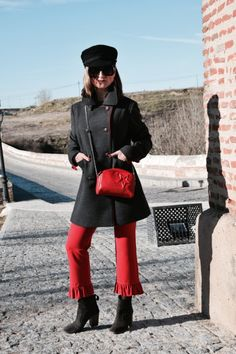 http://www.diseneitorforever.es/militar-volantes-marinero-navy/  #fashion #look #outfit