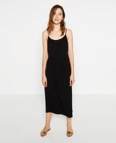 MIDI STRAPPY DRESS-DRESSES-WOMAN   ZARA United States