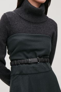 5d1cff6ec GATHERED-LEATHER WAIST BELT Belts For Women