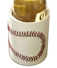 I want this!!!!  Baseball Bottle Koozie