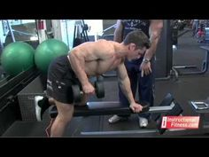 Instructional Fitness - One-arm Dumbbell Rows