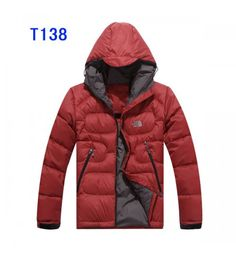 $199.00 The North Face Jackets For Men Red T138 4087 http://www.
