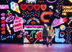 Sugar Republic Review - Pop Up Dessert Museum in Melbourne with Kids. #electricconfetti #neonsigns