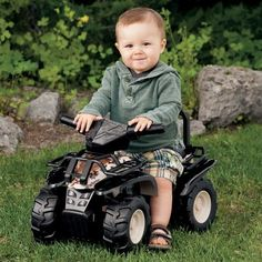 Cabela's Camo Ride-On ATV. We got this for our son. We are giving it to him for his first Christmas present.