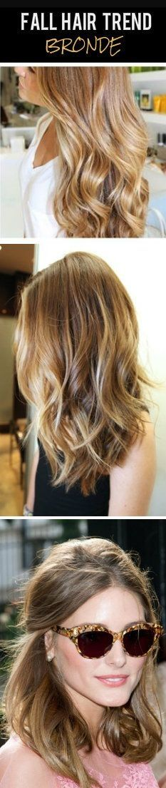 Fall Hair Trend 2013: BRonde! Bronde hair color