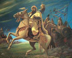 Samarcanda es una ciudad grande y noble, donde viven los musulmanes y los cristianos… Marco Polo, el siglo XII  Según la última voluntad de Gengis Kan sus sucesores eran sus hijos: Dzhuchi, Chagatai, Tuluy y Ugedey. Ellos formaron familia dorada de gobernantes de Gengis dividiendo …