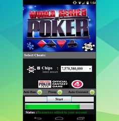http://www.4-hacks.com/androidios/wsop-cheat-2016/ How to Hack Wsop, World…                                                                                                                                                                                 More