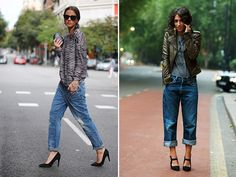 Spotted: Baggy Blues #streetstyle #fashion #honestlywtf