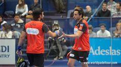 Fernando Belasteguín y Pablo Lima suman un nuevo título en el #WPTEuskadiOpen tras ganar a Paquito Navarro y Sanyo Gutiérrez por 6/2 y 6/4. Enhorabuena!