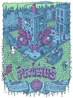 Primus - Williamsburg 2012 - by David Welker