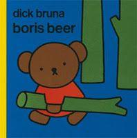 Een beren leuk prentenboek van Dick Bruna over Boris Beer