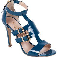 Exclusive - VICTORIA Renk:Mavi Yüz:% 100 Rugan Deri Astar:% 100 Deri Taban:Neolit Ökçe Yüksekliği:95 cm