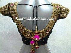 kundan work bridal blouse