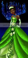 Tiana: The Frog Princess by JunebugHardee