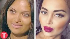 UNNATURAL BEAUTY. Women who went undr the knife to become Instagram sensations.