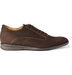 John Lobb Winner Suede Sneakers | MR PORTER