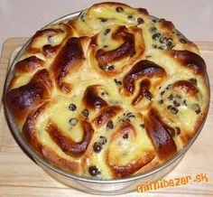 Chinois. Czech Recipes, Something Sweet, Dessert Recipes, Food And Drink, Pie, Treats, Cooking, Gardening, Basket