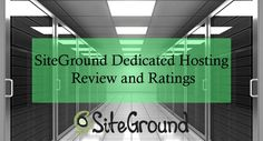 Need help in selecting the best Dedicated hosting? Read our review on SiteGround Dedicated hosting to find out what makes them the highly recommended hosting solution. #Webhosting #SiteGround #DedicatedHosting