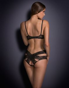 Agent Provocateur Margot Suspender Belt in Black