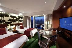 Far from the best hotel in town, basic luxuries but a superb location in the upscale Gangnam area, connected to COEX Mall, the largest underground shopping mall in Asia.