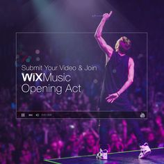 Musicians: Get Heard by Millions with Wix Music's #OpeningAct