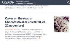 Su liquida Cakes on the road al Chocofestoval di Chieti