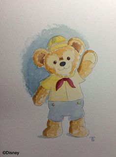 Disney Bear, Cartoon Icons, Duffy, Disney Cartoons, Teddy Bear, Toys, Animals, Disney Cartoon Drawings, Activity Toys
