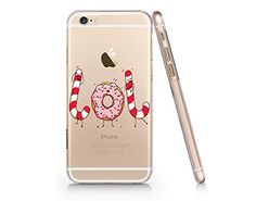 Cute Donut And Candy Slim Iphone 6 PLUS 6s PLUS Case, Clear Iphone Hard Cover Case For Apple Iphone 6 PLUS 6s PLUS Emerishop (NPT059.6plsl) Emerishop