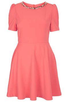 **Kleid Mit Kristallsteinverzierung Von Sister Jane - Kleider - Bekleidung