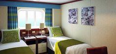 P&O Cruises | Azura Cruise Ship | Azura Outside Cabins @P&O Cruises