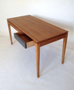 Teak Furniture, Cabinet Making, Wood Desk, Furniture Making, Office Desk, Woodworking, Desks, Tables, London