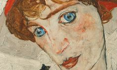 Egon Schiele - Portrait of Wally, 1912 (detail) Koloman Moser, Vienna Secession, Tumblr, Light Texture, Gustav Klimt, Light Colors, Art Nouveau, Graphic Design, Portrait