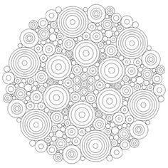 You must have heard about mandala that is used for meditation, but have you heard of mandala-themed coloring sheet? Try out these mandala coloring pages . Mandala Simple, Mandala Dots, Mandala Pattern, Mandala Coloring Pages, Coloring Book Pages, Coloring Sheets, Mandala Printable, Free Printable Coloring Pages, Dot Painting