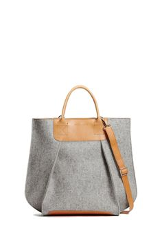 Frankie tote grey - Womens Architect Fashion, Backpacker, Wool Felt,  Fashion Bags, 1facc6d3eb