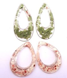 unusal molds for resin | Resin Crafts: Fragment Earrings With Jewelry Resin