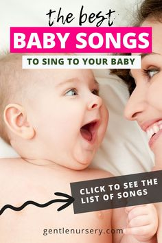 Did you know singing to your baby promotes bonding and helps brain development?