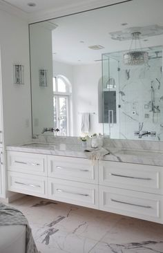 We all admire a beautiful, spacious bathroom. But who says small bathrooms can't be transformed into the dream bathroom you've always wanted? It can be challenging, but check out ourtop 5 simple tips and tricksto upgrade your bathroom's aesthetics and also make it appear larger than it truly is. 1. White/Neutral Colours White tiles, walls … Continue reading 5 Ways To Make Your Bathroom Appear Larger