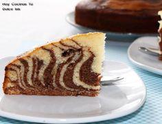Hoy Cocinas Tú: Bizcocho cebra