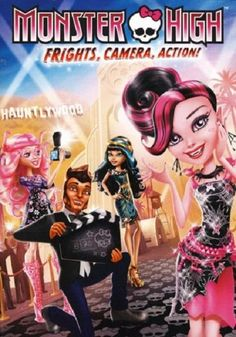 awesome Monster High: Frights, Camera, Action! (DVD, 2014 New Teen w/s   Check more at http://harmonisproduction.com/monster-high-frights-camera-action-dvd-2014-new-teen-ws/