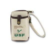 #USF vintage wristlet.