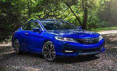 2016 Honda Accord Coupe V-6 Manual