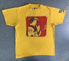 e363ac52 RESERVED NIKE Shirt GEISHA Girl 1980 Vintage Extremely Rare/ 80's Collector  Cascade Run off T-shirt/ Pinwheel Era Hanes Tag Super Soft & Thi
