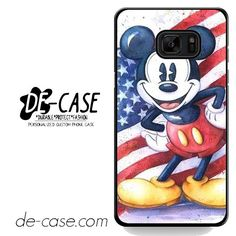 Mickey Mouse In Usa Flag DEAL-7206 Samsung Phonecase Cover For Samsung Galaxy Note 7
