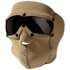 Swiss Eye Neoprene Face Mask with Integrated Goggles Coyote | Face Masks | Military 1st