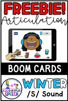 No Print, No Prep, Digital Resource Freebie! This is a file that contains a link to an interactive game on Boom Learning. Your kids will have a blast feeding Winter characters (Snowman, Kids with winter clothes, Penguin, Polar Bear, Moose, and Yeti) and uncovering target words. Watch the winter items disappear as you feed the characters. Say each hidden word 5 times and reach 100 targets by the end of each word position!