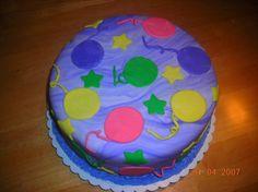 Ballons Cake