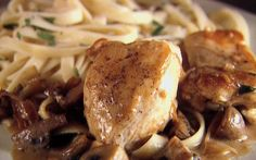 Chicken with mustard mascarpone Marsala sauce by Giada De Laurentiis (Cheese, Chicken, Mushroom, Mustard) @FoodNetwork_UK