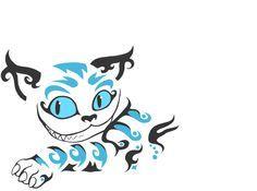 cheshire cat silhouette - Google Search
